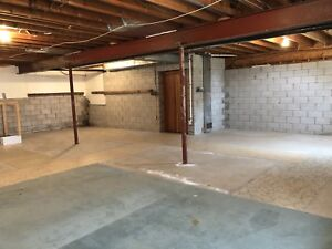 Basement storage for rent