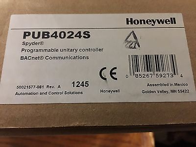 Honeywell Spyder Bacnet Unitary Controller Pub4024s