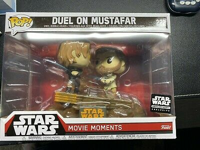 Funko POP! Star Wars ROTS Smuggler's Bounty Movie Moments Duel on Mustafar #222