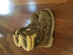 Women's size 6 steel toe boots