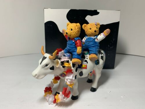 Westland CowParade #7743 Teddy Bears on the Moove 2007 with Box