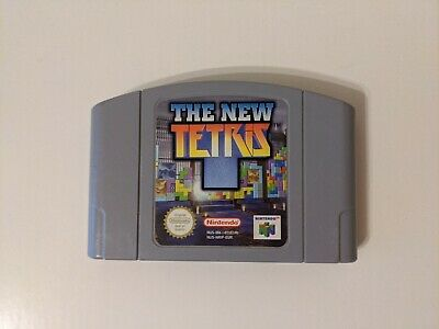The New Tetris - Nintendo 64 N64 - PAL - Cartridge Only