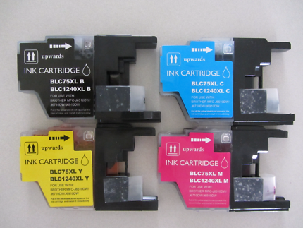 Two sets Brother LC73 compatible ink cartridges