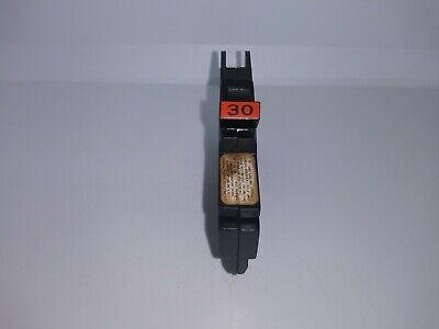 Federal Pacific Fpe Nc130 1 Pole 30 Amp Nc Thin Circuit Breaker