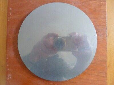 6 Inch Van Keuren Optical Flat Mirror In Mahogany Box
