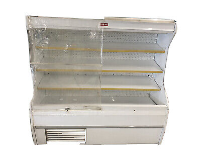 Howard Mccray 8 Open Air Meat Cooler With Curtains Self Contained