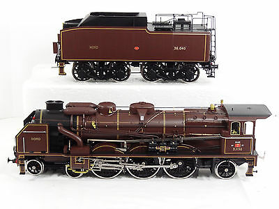 Fulgurex Gauge 1 Dampflok Chapelon Nord Pacific 231 Steam Engine and Tender New