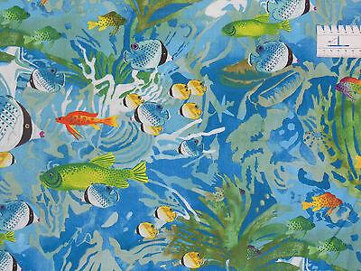 16,18€/m² => 25cmx110cm: Fische, AQUARIA - Alexander Henry