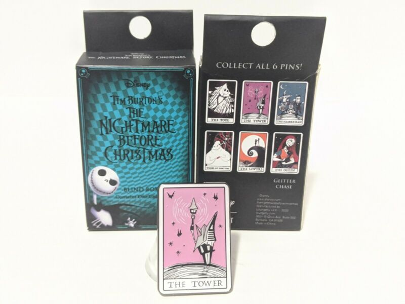 The Tower Tarot Loungefly The Nightmare Before Christmas Mystery Blind Box Pin