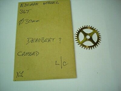 Clock Longcase Escape Wheel