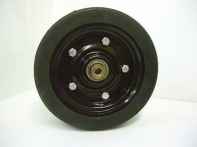 Mower Tire Wheel Assembly Finish More Diameter X 3 Thick 12 Shaft Bearing