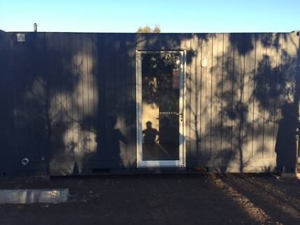 shipping container, relocatable, donga, house, sleep out office