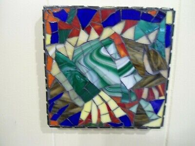 Piece Made Mosaic Abstract