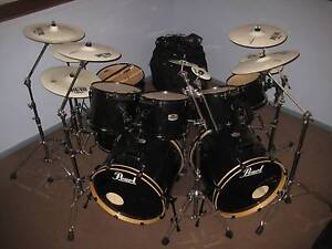 """PEARL / PIASTE"" JOEY JORDISON - SLIPKNOT 17 PCE DRUM KIT Darlington Mundaring Area Preview"