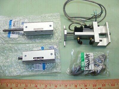 Qty 4 Lot Smc Air Cylinders Pneumatic Air Assembly Cdqsb16c-p1231 Ncdjpb10-025d