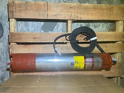 Berkeley Dual Voltage Hitachi 6 Motor Submersible Pump 20 Hp 230 Volts 3 Ph