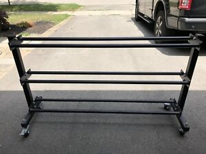 Multi ball rack
