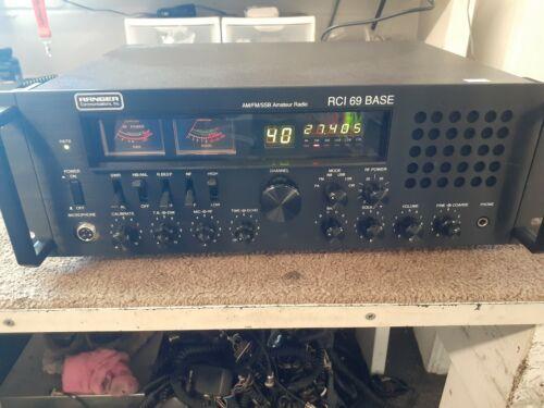 RCI-69 Base AM/FM/SSB/CW 10 & 11 Meter Amateur Radio AM/FM/SSB/CW 100+ watts