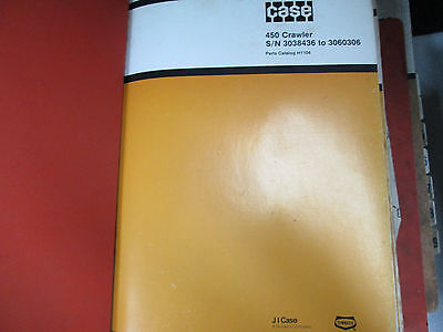Case 450 Crawler W14 580c Ck Loader Parts Catalog Manual Factory Oem Book Used