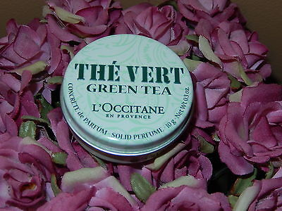 L'OCCITANE Solid Perfume Vert Green Tea Concrete de Parfum 0.3 - Tea Solid Perfume