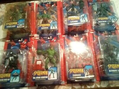 Spiderman Classics ToyBiz Marvel Legends Lot Action Figures Sealed