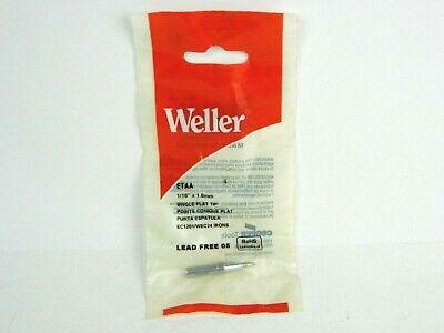 Weller Etaa Soldering Iron Tip Flat 116 X 1.6mm