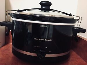 Hamilton Beach 4Qt Slow Cooker