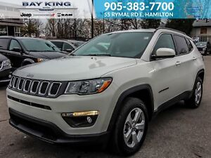 2018 Jeep Compass NORTH 4X4, BLUETOOTH, CARGO SPACE, KEYLESS ENT
