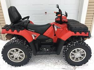 POLARIS SPORTSMAN 850 TOURING EPS. VRAIS DEUX PLACES. 2014.