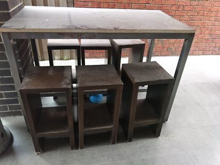 Outdoor table n seating or workbench