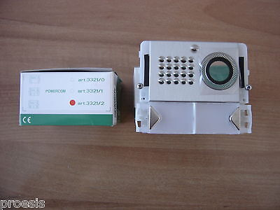COMELIT 3321/2 Powercom flange for module unit outer audio video video camera