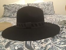 Morgan and Taylor black felt hat Wagga Wagga Wagga Wagga City Preview