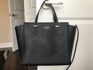 Perfect everyday black Kate Spade tote purse