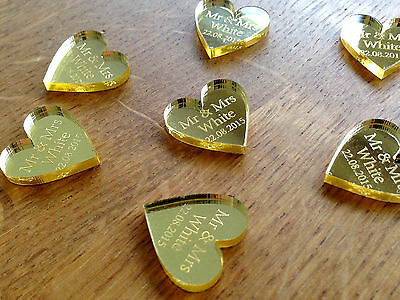 50th Wedding Anniversary Table Centerpieces (Personalised Gold 50th Wedding Anniversary Table Decorations Favours)
