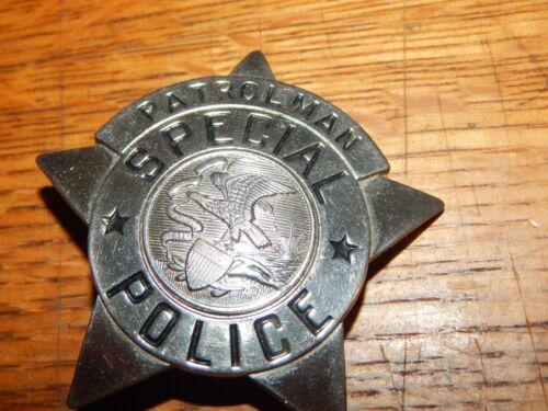 ANTIQUE ILLINOIS IL SPECIAL  POLICE  PATROLMAN