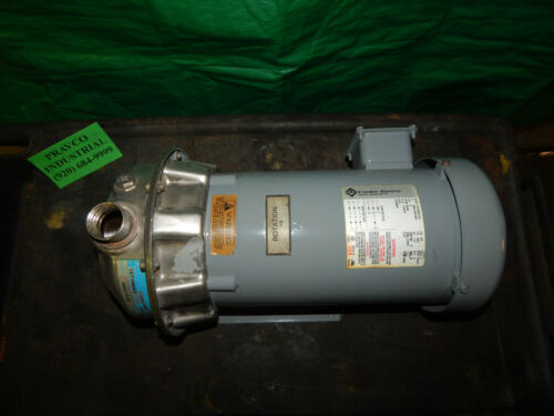 G&L Gould Pumps Model NPE Size 1 X 1 1/4-6 Pump with Franklin Electric 3HP Motor
