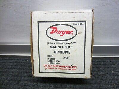 Dwyer-2060 Magnehelic Pressure-gauge-60psi-new-in-box