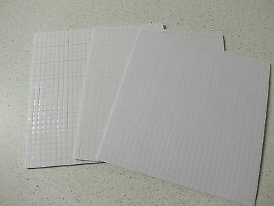 SONDERPREIS: 3x 3D Klebepads / Foampads á 900 Stück 1mm, 2mm, 3mm -weiß-