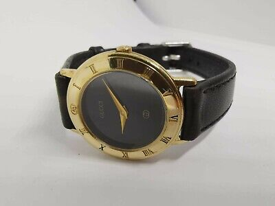 Vintage Gucci 3001L 18K Gold Plated ladies Watch