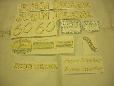 John Deere 60 Decal Set - Vinyl Cut New Free Shipping