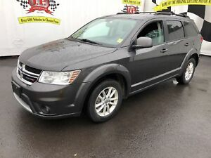 2017 Dodge Journey SXT, Navigation, Back Up Camera, Rear Dvd, AW