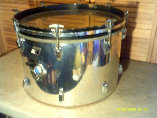 Ludwig bass drum 22 inches across & 14 inches deep