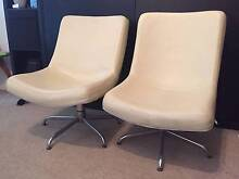 Retro Swivel Chairs x 2 Petersham Marrickville Area Preview