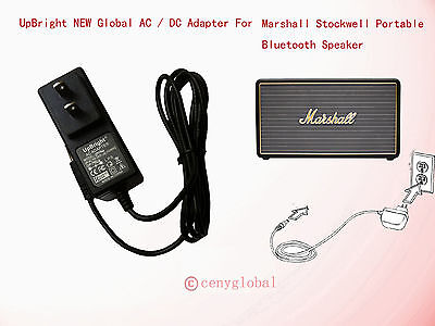 Global Ac Adapter For Marshall Stockwell Portable Bluetooth Speaker Power Supply