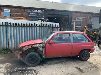 VAUXHALL NOVA SR PROJECT BARN FIND CLASSIC CAR BARGAIN LOOK MK1 1989 LOOK RED