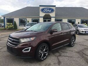 2018 Ford Edge SPORT PKG LEATHER NAV SUNROOF BLIS ADAPTIVE CRUIS