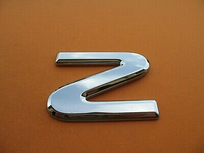 ISUZU BOX TRUCK PICK UP FRONT CHROME Z EMBLEM LOGO BADGE SIGN SYMBOL LETTER 9168