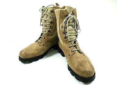 Auth MARTIN MARGIELA replica Brown Beige Mouton Boots Men