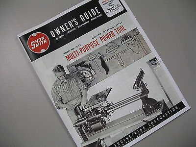 Shopsmith Model 10-ER (10 ER) Magna Owners Guide