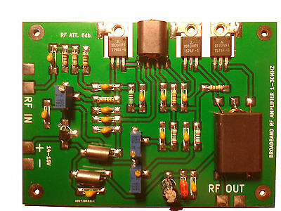 RF POWER AMPLIFIER AM SSB HF SDR 1-30 MHZ